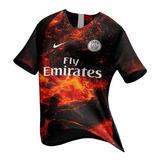 f530a9b8df Camisa Paris Saint Germain Juvenil (produto Oficial) no Mercado ...