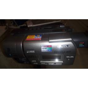 Camara Filmadora Handycam De Cassette Sony Sin Bateria