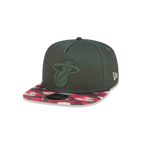 Boné New Era Nba 9fifty Miami Heat Hardwood Classics (white) - Bonés ... a2906d7e086