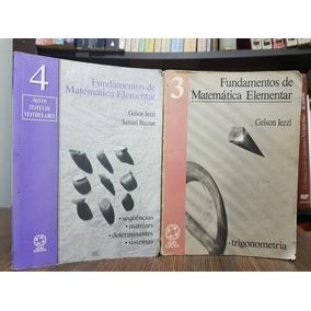 Ime Ita Fundamentos De Matemática Elementar Vol 3 E 4 Iezzi