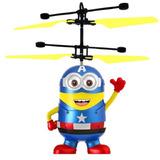 Minion Súper Héroes Juguete Volador Niños Helicoptero