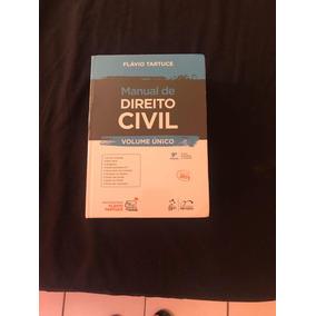 Manual De Direito Civil Ano De 2019