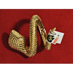 Anel Serpente 16,31g De Ouro 18k