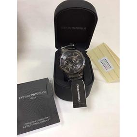 Relógio Empório Armani Ar2434 Com Garantia