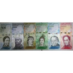 Cédulas Novas Bolívares Venezuela 500, 1k, 2k, 5k, 10k E 20k