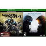 Oferta::halo 5+gears Of Wars 4 Xbox One Offline