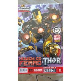 Homem De Ferro & Thor Novalmarvel Arco Carniceiro Dos Deuses
