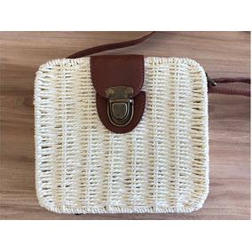 518038e3f Bolsas Outras Marcas de Palha Femininas Branco em Ceará no Mercado ...