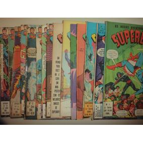 As Novas Aventuras De Superboy 1 A 15 Ebal 1980 Otimas