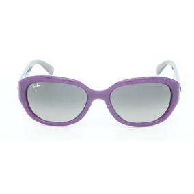 f84a73de1b3f9 Óculos De Sol Ray-ban Highstreet Rb4198 - Tamanho 55