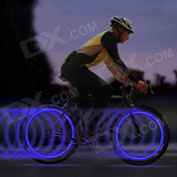 Bicicleta Azul Válvula Intermitente Vedante Azul