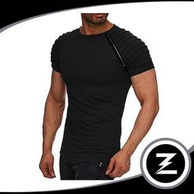 Camiseta Malha Slim Cm032 Camisa