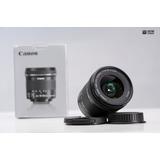 Objetivo Gran Angular Canon 10-18 Is Stm Canon Como Nuevo