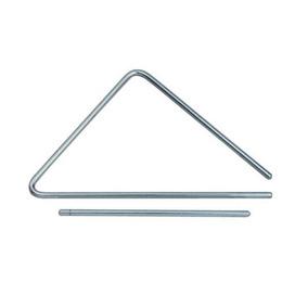 Triângulo Torelli Cromado Tl 601 - 30 Cm