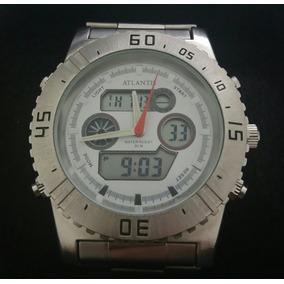 48b14d7202d Relogio Atlantis Mod. G 3211 - Relógio Masculino no Mercado Livre Brasil