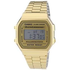 64e3e1e72202 Reloj Casio A168wg Dorado Vintage - Relojes Casio en Mercado Libre Chile