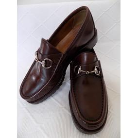 Zapatos Gucci 26.5 D Mx Café Orig