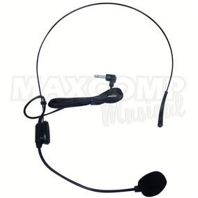 Microfone Com Haste De Cabeça Headset Auricular