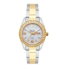 3c5af2e23f4 Relógio Orient Feminino Steel Silver Dial Swarovski Elements ...