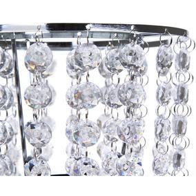 Lámpara De Mesa Crystals Transparente Pm-4564213