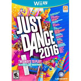 Just Dance 2016 - Nintendo Wii U - Mídia Física Lacrado
