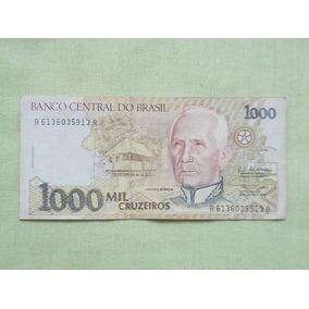 Nota Cedula 1000 Cruzeiros Candido Rondon Cedula Usada
