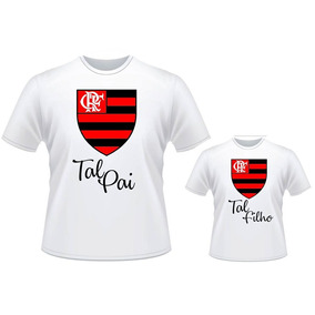 cfa00f6a90 Camisa Tal Pai Tal Filho Do Flamengo - Camisetas e Blusas no Mercado ...