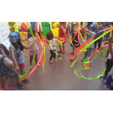 30 Varillas Y Cintas Rítmicas Baile Animaciones Kermesse 08724962bdb7