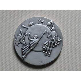 Brasil Medalha Upu 63 Gramas Prata 900 Casa Moeda 1979