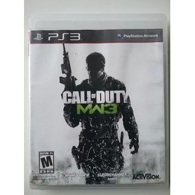 Call Of Duty Mw3 Ps3 Mídia Física Original Ótimo