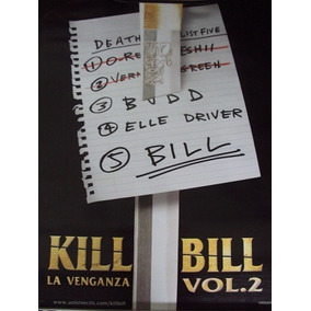 Poster Original De La Pelicula Kill Bill Vol. 2