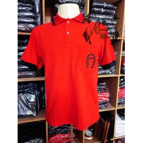 c50af0f80f Camisas Polo Valmor - Pólos Manga Curta Masculinas Vermelho em Dores ...