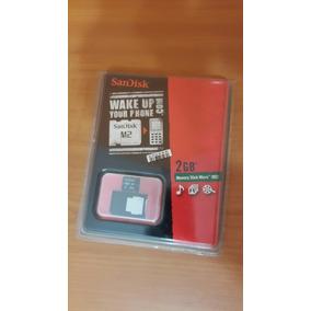 Memory Stick Micro M2 2gb Con Adaptador Sandisk