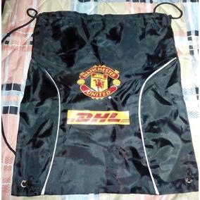 Morral   Mochila Promocional De Dhl Manchester United a7bc6313455c0
