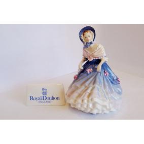 Boneca Inglesa De Porcelana Alice 1990 Royal Doulton