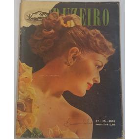 Revista O Cruzeiro 1952 As Duas Taticas Do Fla - Flu
