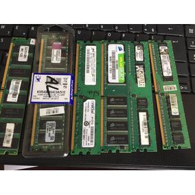 Lote 6 Memória Computador Desktop 512mb Usadas E Novas