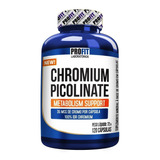Picolinato De Cromo 120caps Chromium Picolinate - Profit