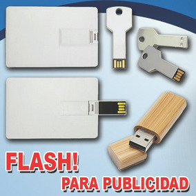 Flash Memory Pendrive 8gb Tipo Tarjeta Para Logo X Mayor