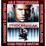Serie Prison Break (1ª Até 5ª Temporada) +filme+frete Grátis