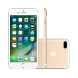 iPhone 7 Plus 128gb Dourado Gold Anatel Lacrado Nota Fiscal