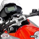 Scam Spta271 Riser Adaptador Guidao Cb300r 2009-2015 Prata