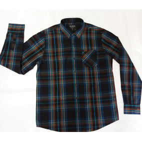 a6334c6d37 Camisa Masculina Tassa Azul Xadrez Country Rodeio