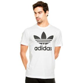 Camiseta adidas Org Trefoil Masculina Bh6486 - Gg - Branco 8244df0e45574