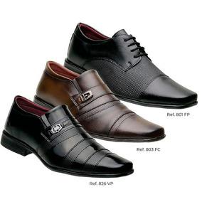 Kit 3 Pares Sapatos Social Masculino Temos Kits Revenda K5
