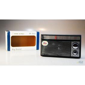 Radio Portátil 3 Bandas Mundial Enchufe 110/220v O Pilas