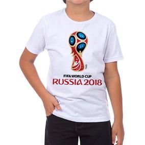 e1b87b1275bcc Camiseta Copa Mundo 2018 Russia Tamanho 14 - Camisetas Manga Curta ...