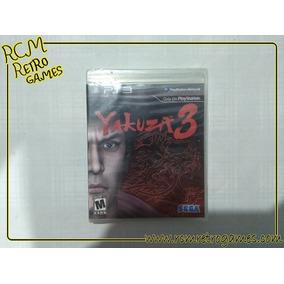 Yakuza 3 Playstation 3 Ps3 - Mídia Física - Novo E Lacrado