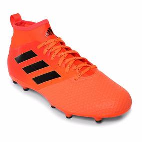 new concept dfc18 f232f Taquetes De Futbol adidas Ace 17.3 Naranja Y Negro Original!