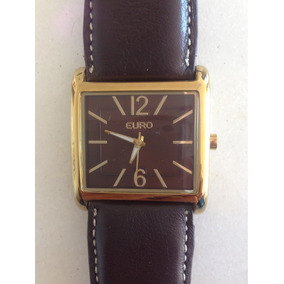 3924a10b201 Pulseiras De Couro Para Relogio Euro - Joias e Relógios no Mercado ...